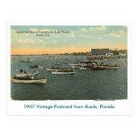 Eustis, FL - Fleet of Boats - 1907 Postcard