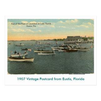 Eustis, FL - flota de barcos - 1907 Postales