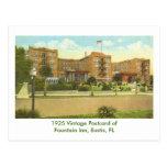 Eustis, FL - Fountain Inn - 1925 Postcard