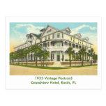 Eustis, FL - Grandview Hotel - 1925 Postcard