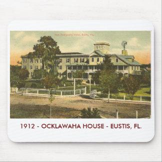 EUSTIS, FL - OCKLAWAHA  HOUSE - 1912 MOUSE PAD