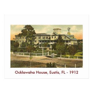 EUSTIS, FL.., Ocklawaha House, 1912 Postcard