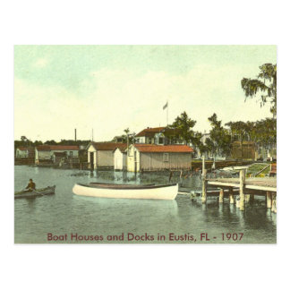 Eustis, FL - Waterfront - 1907 Postcard