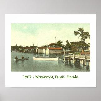 EUSTIS, FL - Waterfront, 1907 Posters