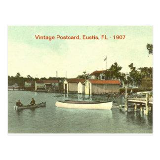 Eustis, Florida, Waterfront - 1907 Postcard