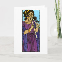 Euterpe Greeting Card