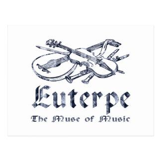 Euterpe Tarjeta Postal