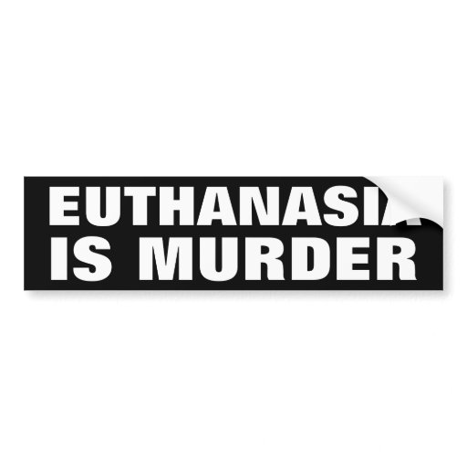 euthanasia be prosecuted as murder The slippery-slope argument against euthanasia revisited  life without request would be prosecuted for murder that euthanasia would be used only in cases of 'last resort' and not as an.