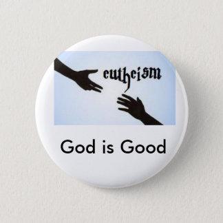 Eutheism Pinback Button