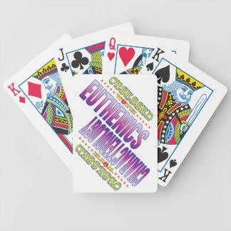 Euthenics 2 obsesionado barajas de cartas