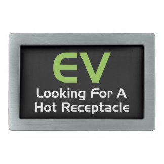 EV Looking For A Hot Receptacle Rectangular Belt Buckle