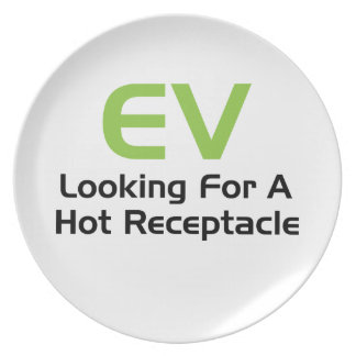 EV Looking For A Hot Receptacle Dinner Plates