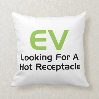 EV Looking For A Hot Receptacle Pillows