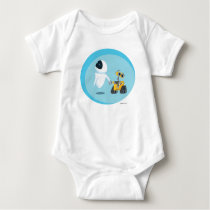 EVA and WALL-E Baby Bodysuit