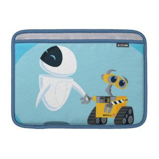 EVA and WALL-E MacBook Sleeve