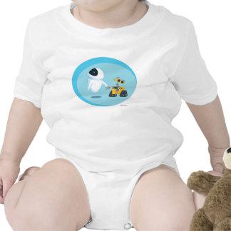 EVA and WALL-E Baby Creeper