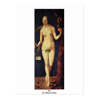 Eva By Albrecht Dürer Postcard