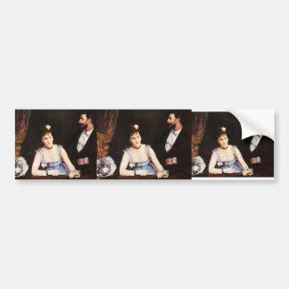 Eva Gonzales- A Box at the Italian Theatre Car Bumper Sticker