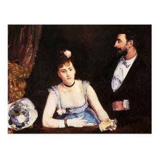 Eva Gonzales- A Box at the Italian Theatre Postcard