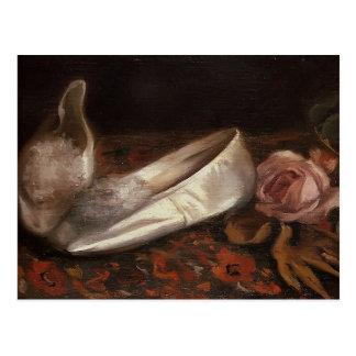 Eva Gonzales- White Shoes Postcard