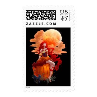 Eva Halloween Stamp
