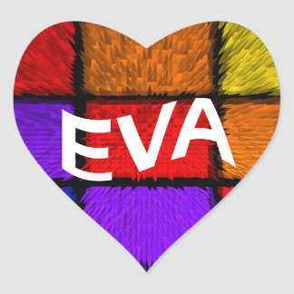 EVA HEART STICKER