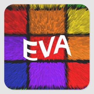 EVA SQUARE STICKER