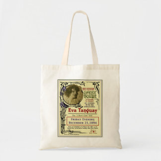 Eva Tanguay Keator Opera House Art Nouveau Poster Budget Tote Bag