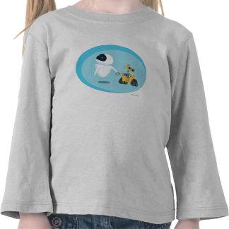 EVA y WALL-E Camisetas