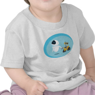 EVA y WALL-E Camiseta