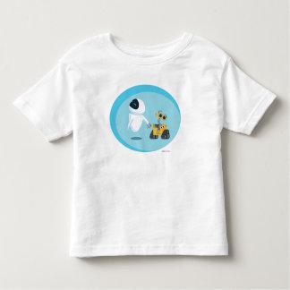 EVA y WALL-E Playera