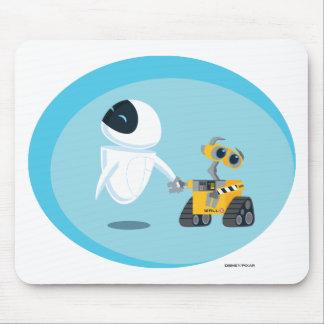 EVA y WALL-E Tapetes De Ratón