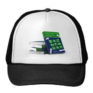 Evacuación de la gente con la cubierta de libro de gorras de camionero