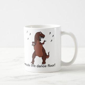 Evacuate the dance floor! classic white coffee mug