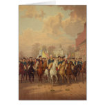 Evacuation day and Washingtons New York Entry 1783 Cards
