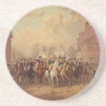 Evacuation day and Washingtons New York Entry 1783 Coasters