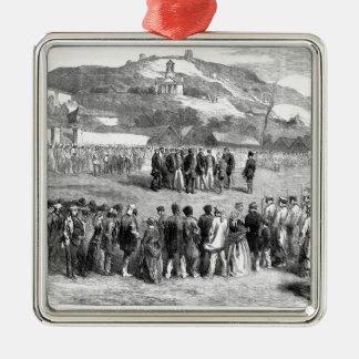 Evacuation of the Crimea by the Allies Metal Ornament