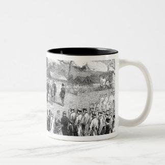 Evacuation of the Crimea by the Allies Two-Tone Coffee Mug