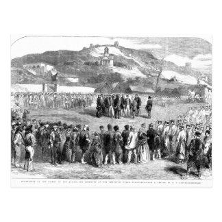 Evacuation of the Crimea by the Allies Postcard