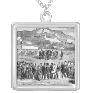 Evacuation of the Crimea by the Allies Silver Plated Necklace