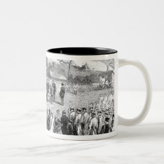 Evacuation of the Crimea by the Allies Two-Tone Coffee Mug