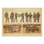 evacuation of victims poster