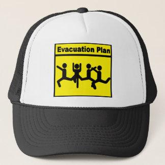 """Evacuation Plan"" Trucker Hat"