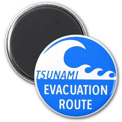Evacuation Route Highway sign Magnet