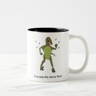 ¡Evacue la sala de baile taza de café