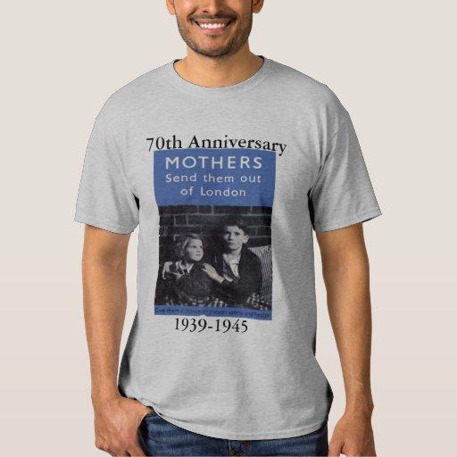 evacuee's, 70th Anniversary, 1939-1945 T-Shirt