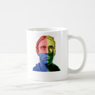 Evadido de 4 colores taza de café