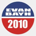 EVAN BAYH PARA EL SENADO ETIQUETAS
