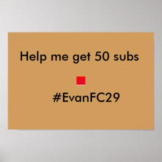 Evan FC 29 poster