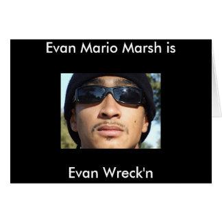 Evan Mario Marsh is Card